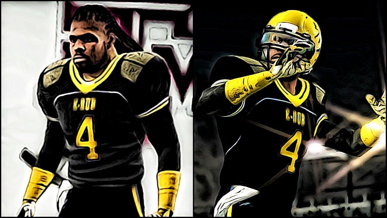 NCAA Football 14 Road to Glory - Creating Hard Hitting CB ...