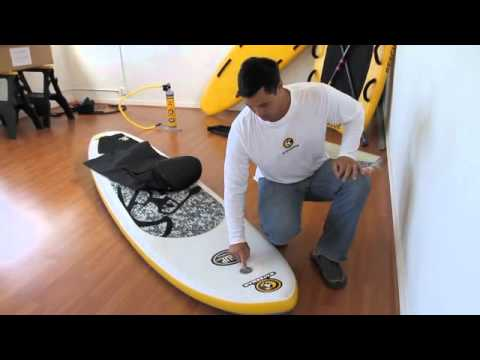 C4 Waterman iSUP Inflatable Paddle Board How-To Video