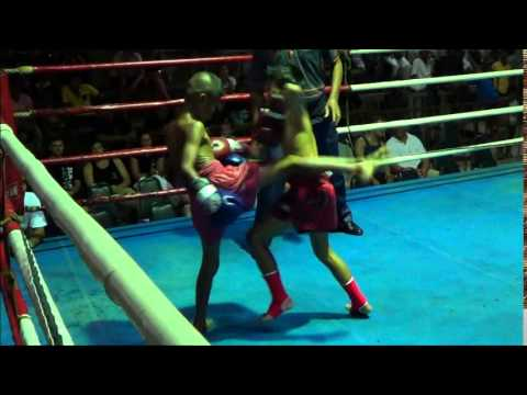 Nong Nat's first fight: 29 April 2014 thumbnail