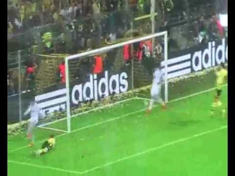 Borussia Dortmund 4:1 Real Madrid | Robert Lewandowski 4 Goals (PL)