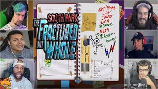 Gamers Reactions to Cartman's Journal | South Park™: The Fractured But Whole