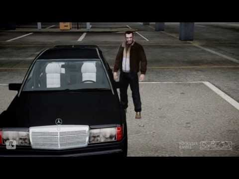 GTA IV - Best Graphics -Mercedes 190E 2.5 - THAT IS AWESOME!