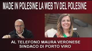 Intervista per ORE 17 LIVE al Sindaco di Porto Viro Maura Veronese