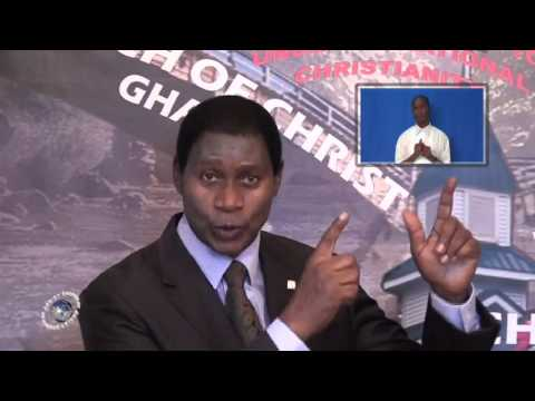 Jesus, Ultimate Authority, Minister Abraham Monney, Church of Christ,Ghana   22 11 2015