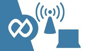 مشاركة الواير ليس دون برامج wireless