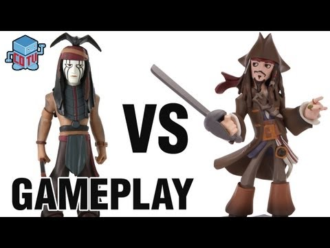 CoinOpTV - Disney Infinity TONTO vs JACK SPARROW Gameplay