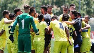 Resumen completo del Real Madrid 2 - 2 Juvenil A