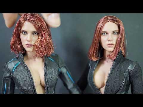 Hot Toys MMS288 復仇者聯盟2:奧創紀元 黑寡婦 開箱( Avengers: Age of Ultron 1/6th scale Black Widow)