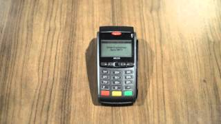 Process a Keyed Entry (card-not-present) Credit Card Transaction on an Ingenico iWL220 Terminal