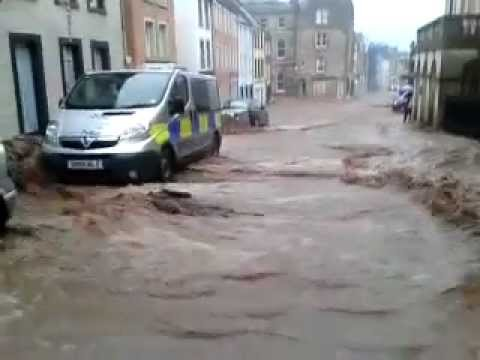 Jedburgh flood 2012