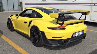 Porsche 991 GT2 RS Weissach Package - Start Up, Revs, Launch Control & Exhaust Sounds!