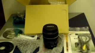 Canon EOS 50D Kit Lens Unbox