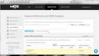 SEO Keyword Research Organization with Google Sheets (Google Docs)