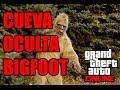 La cueva de BIGFOOT (pie grande) | GTA V ONLINE | Lugar secreto | Cueva oculta en la montaña
