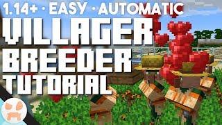 EASY 1.14 Villager Breeder Tutorial | Automatic, Village & Pillage