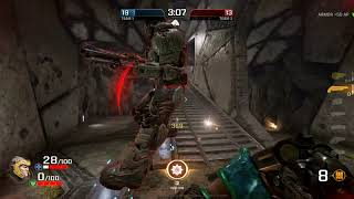 Quake Champions testing new video 1080 Ti @ Lockbox @ Ultra