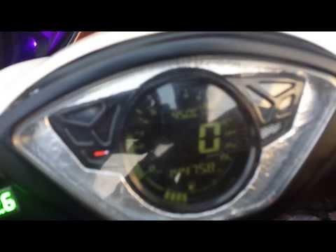 Bagsik Ultimate Booster (B1) on modified Suzuki Hayate