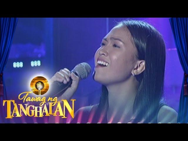 Tawag ng Tanghalan: Mercychan Saman | Till I Met You