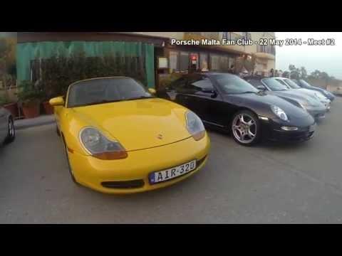 Porsche Malta Fan Club - 22 May 2014  Meet #2