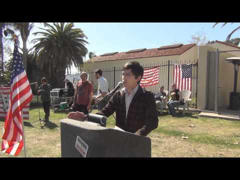 Nick Hankoff Speaks at Day of Resistance Ventura County