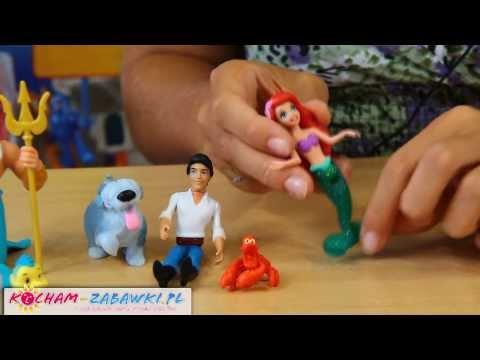 Ariel - Little Mermaid Story Gift Set / Zestaw Sceny Z Bajki Mała Syrenka - Disney Princess - Y0943