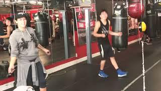 Training camp with Leo Santa Cruz and Rainbow ( building that endurance) boxing