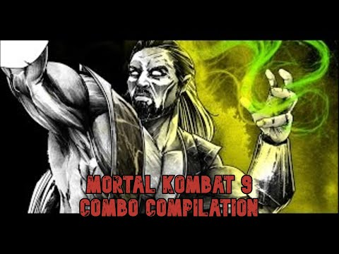 Mortal Kombat 9 Shang Tsung Combo Compilation (PATCH 1.5)