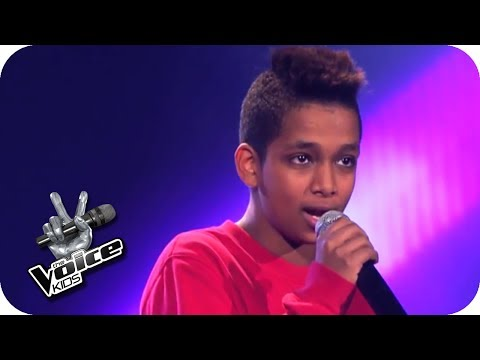 Seinen Basketball als Glücksbringer brauch Danyiom bei der Wahnsinnsstimme nicht mehr! Jetzt werden junge Talente gesucht: The Voice Kids ist The Voice of Ge...