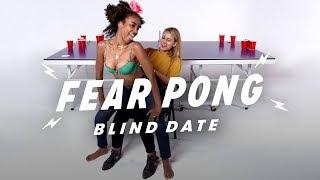 Blind Dates Play Fear Pong (Saba vs. Jorden)   Fear Pong   Cut