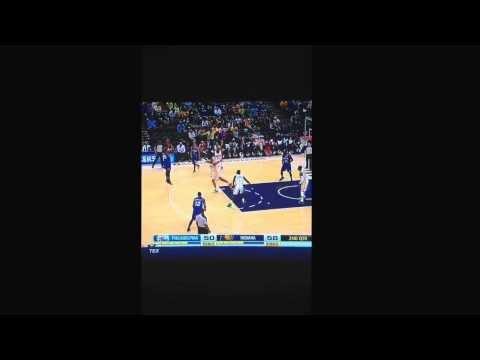 Worst shot in nba history! Philadelphia 76ers. Davies. 3/17/2014