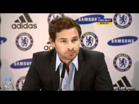 Andre Villas-Boas  || Chelsea Press Conference pt 1