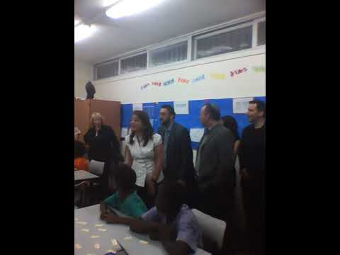 Karmel Melamed: Visting Darfur Refugee Children in Israel's Rogozin School