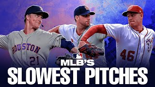 The SLOWEST recorded pitches of 2019!