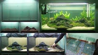 Aquarium model 2 - How to make an aquarium tank - [Piece of Paper]