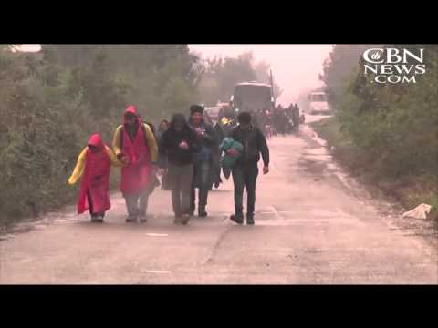 Flood of Mideast Migrants Rerouted in Europe