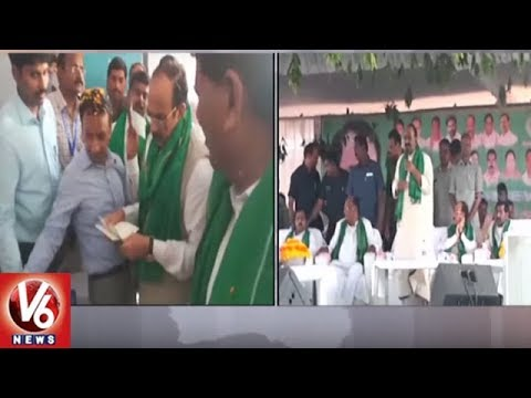 TRS Ministers Launches Rythu Bandhu Scheme In Nalgonda And Suryapet Districts | V6 News