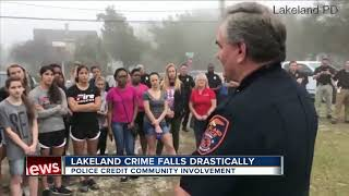 Lakeland crime stats fall, police attribute community action