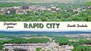 A TOUR OF RAPID CITY, SOUTH DAKOTA! (AROUND THE TOWN)