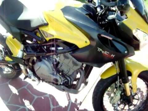 benelli tre-k amazonas motorbike...... lola... Video