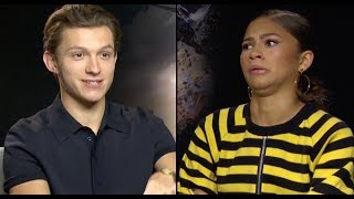 Tom Holland & Zendaya Reveal All Their Secrets In The 'PopBuzz Confession Booth' | PopBuzz Meets