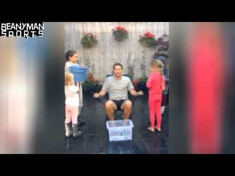 Michael Owen Takes On The ALS 'Ice Bucket Challenge' !!