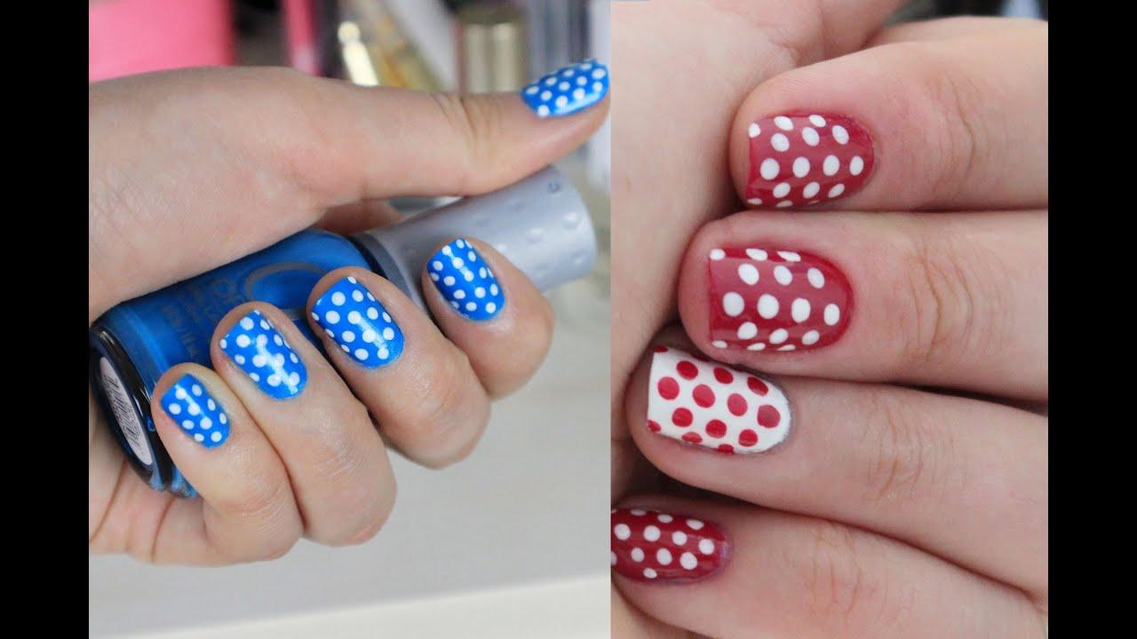 Рисунок на короткие ногти в домашних условиях фото
