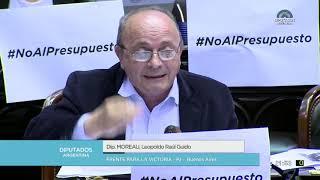 Diputado Moreau Leopoldo Raúl Guido - Sesión 24-10-2018 - PL