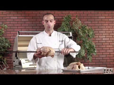Lemon And Herb Rotisserie Chicken - By BBQGuys.com