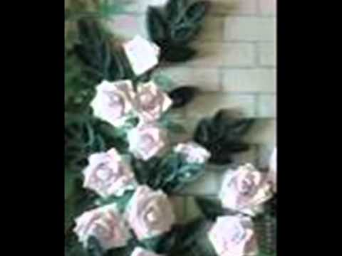 Виктор Королёв и Ирина Круг-букет из белых роз