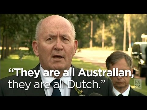 Victims of MH17 'are all Australian, are all Dutch': Governor-General klip izle