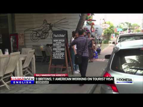 Bali Immigration Arrests 4 British, American Tourists for Allegedly Working at Salon