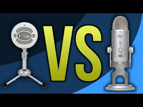 Blue Snowball VS Blue Yeti Microphone (Review / Comparison)