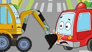Car Cartoons For Children | BeBe Workshop Videos For Babies by Kids channel