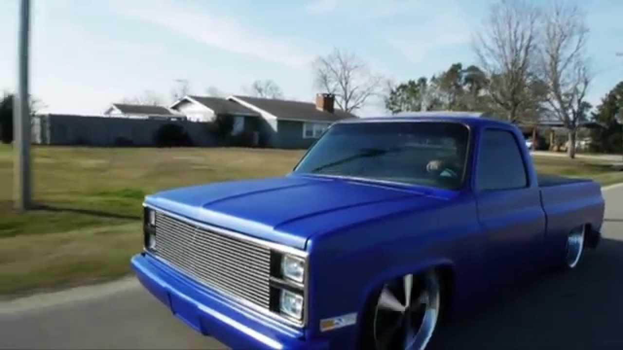 HOMECUTT 87 C10 Chevy Truck Body Drop Bodydrop Air Ride